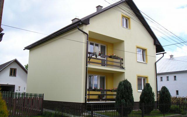 Iftherm-stavba, zateplovanie rodinnych domov Horehronie